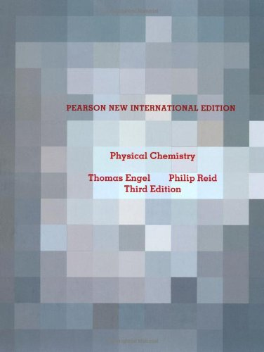 Physical Chemistry: Pearson New International Edition, 3rd Edition Front Cover