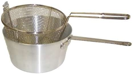 Johnson Rose Round Fryer Pot Set, 5 1 2 Quart – 5678 Fryer Basket — 1 each.