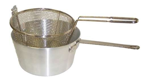 Johnson Rose Round Fryer Pot Set, 5 1/2 Quart - 5678 Fryer Basket -- 1 each. (Stove Mesh)