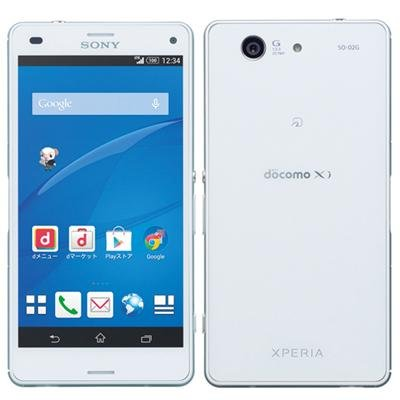Xperia Z3 Compact SO-02G(ホワイト)