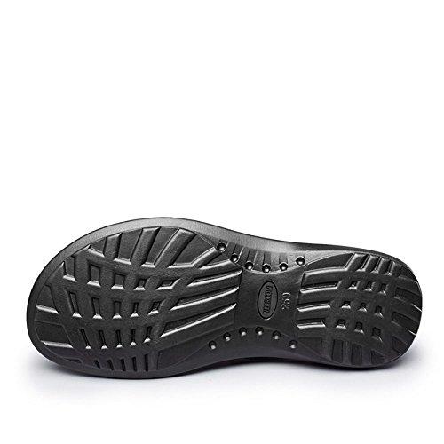 de aire de de vacuno para libre Koyi Sandalias deporte para verano al piel Senderismo de Marrón hombre Zapatillas Zapatillas Pescador deporte BxwBIqn4T