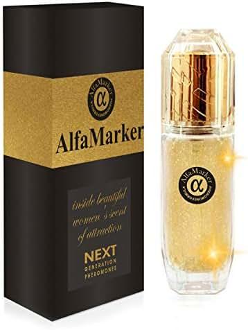 Pheromone Perfumes for Women Alfamarker Gold Spray to Attract 25 ml