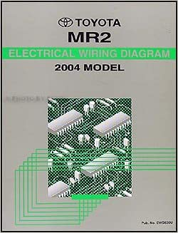 2004 toyota mr2 spyder wiring diagram manual original: toyota: amazon com:  books