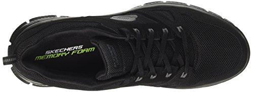 para Advantage Flex Negro Interior de Skechers de Deporte Bbk Zapatos Hombre B1nqOw