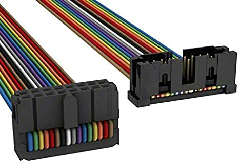 IDC CABLE Pack of 10 A3DKB-1636M AKR16B//AE16M//APK16B