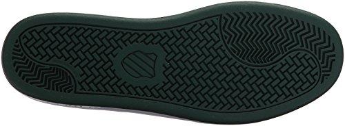 K-Swiss Women's Court Casper S Sneaker White/Dark Green ZKzZMfmy