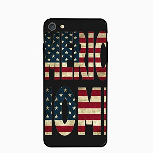 America Home Flag iPhone 6 Case,iPhone 6s Cover Shockproof Shell Compatible for iPhone 6/6S (4.7-inch) ()