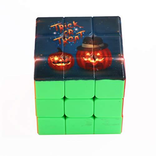 PGame World 3x3x3 Magic Cube 3D Priting Halloween