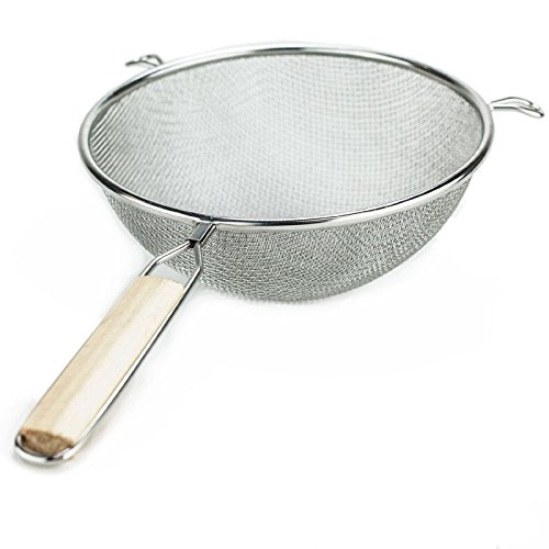 Huji Stainless Strainer Colander Kitchen product image