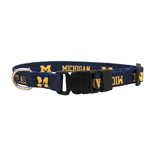 NCAA Michigan Wolverines Team Pet Collar, XS (Collar Pet X-small)