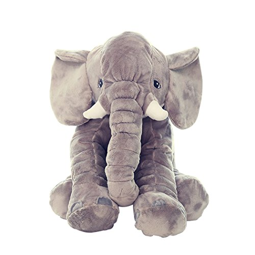 Vicheer Cute Bed Plush Baby Sleeping Accompany Pillow Stuffed Elephant Toy For Kids