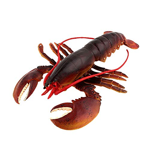 (Palarn Toys, Lifelike Lobster Kids Pretend Play Toy Simulated Marine Creatures Collection )