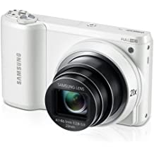 """Samsung WB800F 16.3MP CMOS Smart WiFi Digital Camera with 21x Optical Zoom, 3.0"""" Touch Screen LCD and 1080p HD Video (White) (Discontinued by Manufacturer)"""