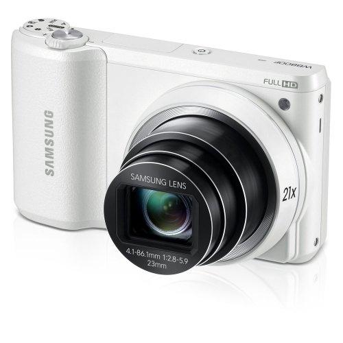 Samsung WB800F 16.3MP CMOS Smart WiFi Digital Camera with 21x Optical Zoom, 3.0