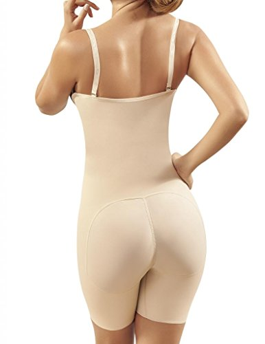 Moldeate 12004 Push UP and Tummy Control Shapewear with Convertible Straps