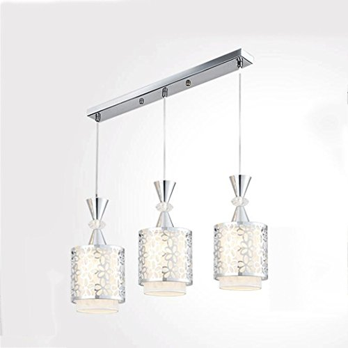 HOMEE Ceiling Chandelier-Chandelier Creativity Individuality Restaurant Lights Chandeliers Garden Led Simple Chandelier E27,M-3 by HOMEE