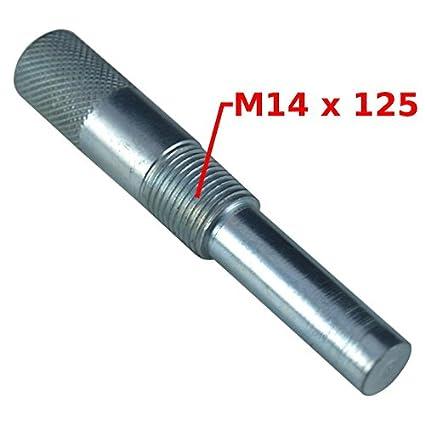 Herramienta de bloqueo de pistón de acero 14 x 125 para ...