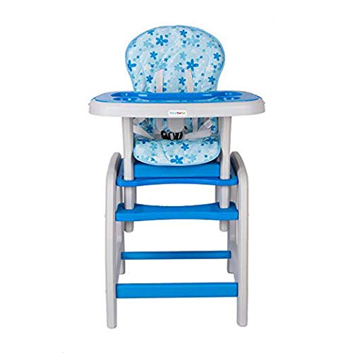 Dearbebe 3-in-1 Infant High Chair with Tray,Blue by Dearbebe (Image #4)