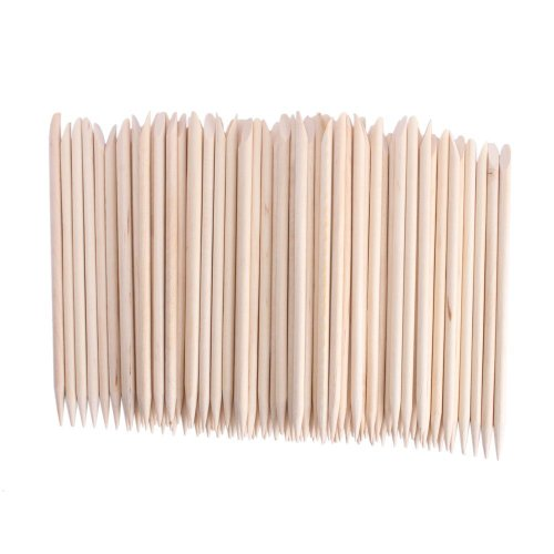 *Beauticom USA Base* BULK Cuticle Wood Stick Pusher Manicure 4.5'' in Length (10,000 pieces) by Beauticom