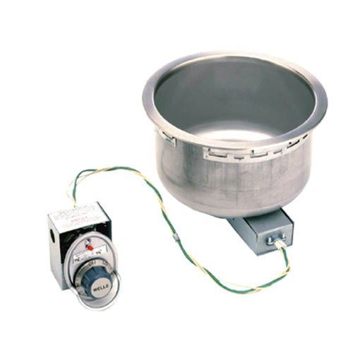 Wells SS-8D Food Warmer top-mount built-in electric for 7-quart round insert dra