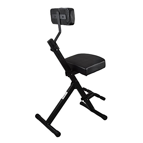Pyle PKST70 Durable Portable Adjustable Musician and Performer Chair Seat Stool