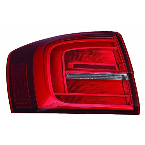 Fits Volkswagen Jetta Sedan/Hybrid 2015-2016 Outer Tail Light Assembly LED Driver Side (NSF Certified) VW2804118N
