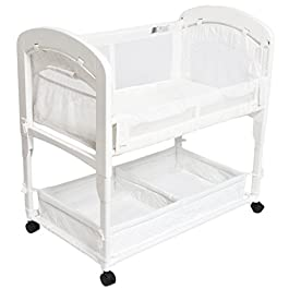Arm's Reach Cambria Co-Sleeper Bassinet, Qui...