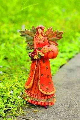 DHG – Estatuas de jardín – Figura Decorativa de ángel de Resina para jardín, Cosecha, Festival, jardín, decoración de Pueblo Americano al Aire Libre: Amazon.es: Hogar