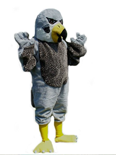 Mascots USA by CJs Huggables Custom Pro Low Cost Peregrine Falcon Mascot Costume