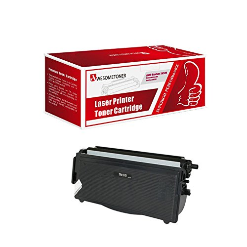 Remanufactured Brother Tn570, Tn-570 (Tn540, Tn-540) High Yield Toner Cartridge for Dcp-8040, Dcp-8040d, Dcp-8045d, Hl-5100, Hl-5130, Hl-5140, Hl-5150d, Hl-5150dlt, Hl-5170dn, Hl-5170dnlt, Mfc-8220, Mfc-8440, Mfc-8640d, Mfc-8840d, Mfc-8840dn By Sol