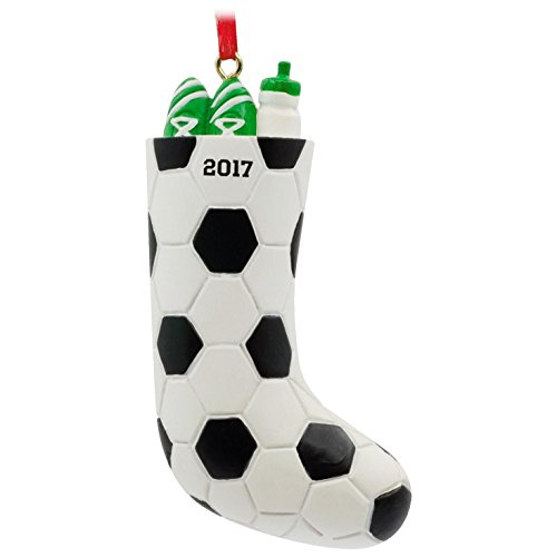 Little Mvp Football (Soccer Stocking 2017 Hallmark Ornament Sports & Activities)