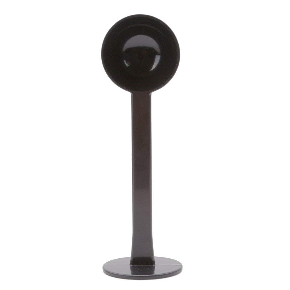 Xeminor Premium Quality Stand Coffee Spoon Measuring Tamping Plastic Scoop Black