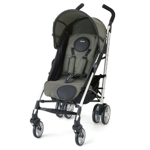 Amazon.com : Chicco Liteway Stroller, Moss (Discontinued by ...