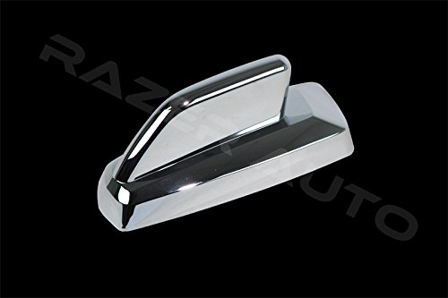 Razer Auto Triple Chrome plated Antenna Cover (Only for Antenna with Base Size: 5 1/8