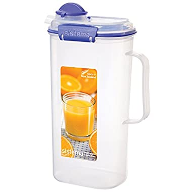 Sistema Klip It Collection Juice Jug, 67 Ounce/ 8.4 Cup