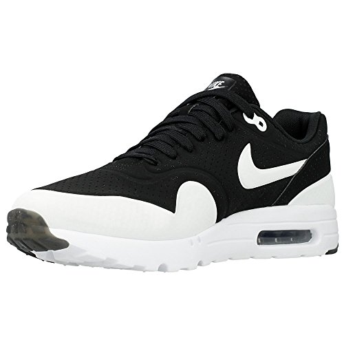 osqjg Nike - Air Max 1 Ultra Moi - Color: Black-White - Size: 11.5