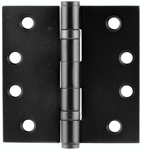 Emtek 94014 4'' x 4'' Steel Heavy Duty Ball Bearing Square Corner Hinges - Pair, Oil Rubbed Bronze by Emtek