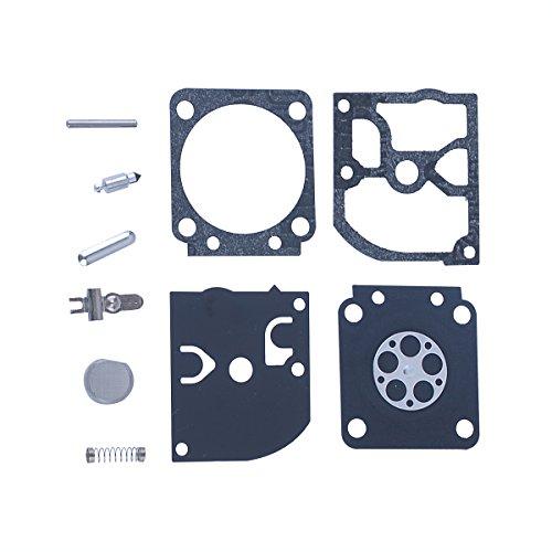 HIPA Carburetor Rebuild Kit RB-129 Assembly for Poulan Pro PP3516 PP3516AVX PP3816 PP3816AV PP4018 PP4218 PP4218AV PP4218AVHD PP4218AVL PP4218AVX PPB3416 PPB4018 PPB4218 SM4218AV Gas Saw Pro Clutch Assembly