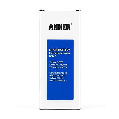 Anker 3220mAh Li-ion Battery for Samsung Galaxy Note 4