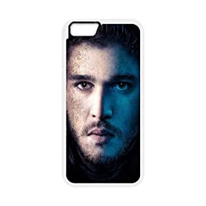iPhone 6 Plus 5.5 Inch Cell Phone Case White Game Of Thrones Jon Snow SUX_066224