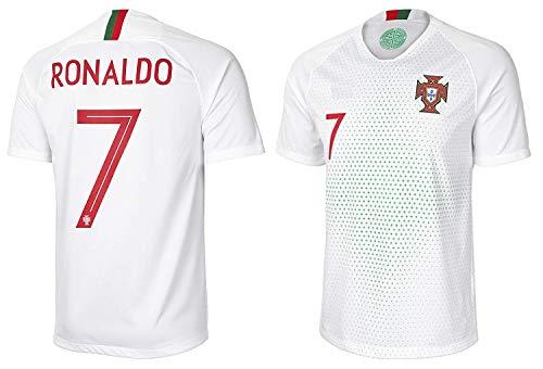 d172e1792 NEW CRJY 2018 World Cup Portugal Ronaldo  7 Away Soccer Short Jersey CR (XL)