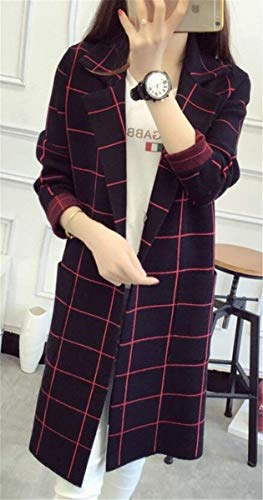 Donna Marine Fashion Casual Hipster Di Vintage Lung Mode Bello Marca Cappotto QrCeEdoWxB