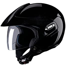 Studds Marshall Helmet in Black
