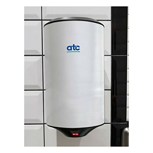 ATC CUB High Speed Hand Dryers Wall Mounted Warm Air Automatic 3 Colours (Black)