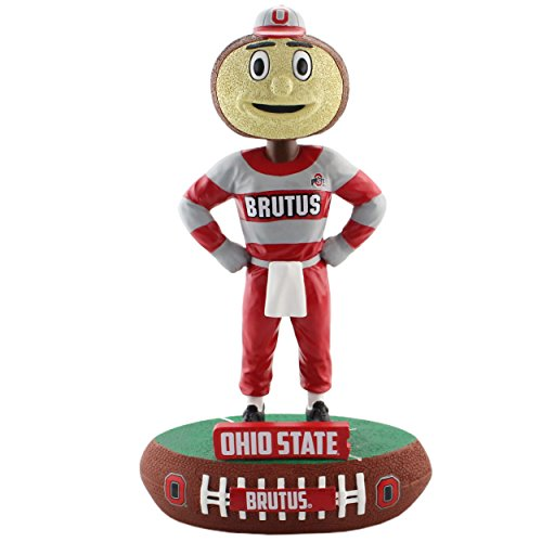 Forever Collectibles Ohio State Buckeyes Mascot Ohio State Buckeyes Baller Special Edition Bobblehead