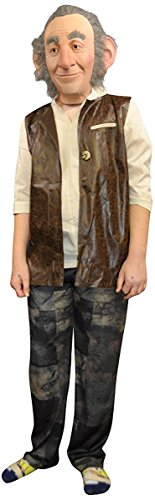 Disney The Big Friendly Giant 3pc Boy Costume, Tan Brown, One-Size - Friendly Giant Costume