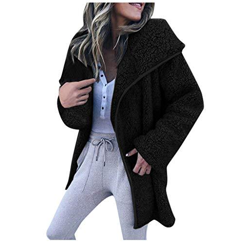 [해외]Huistar Jacket for Women Long Sleeve Winter Warm Thicken Outerwear Coat Loose Overcoat Multicolor Soft Jacket / Huistar Jacket for Women Long Sleeve Winter Warm Thicken Outerwear Coat Loose Overcoat Multicolor Soft Jacket