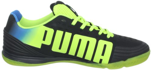 Puma Evospeed 1.2 Sala Fotballsko Svart / Fluoriserende Gul / Brill Bllue