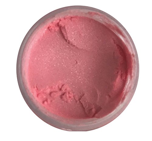 Oh! Sweet Art SALMON ROSE Luster Dust (4 grams container) By Corp