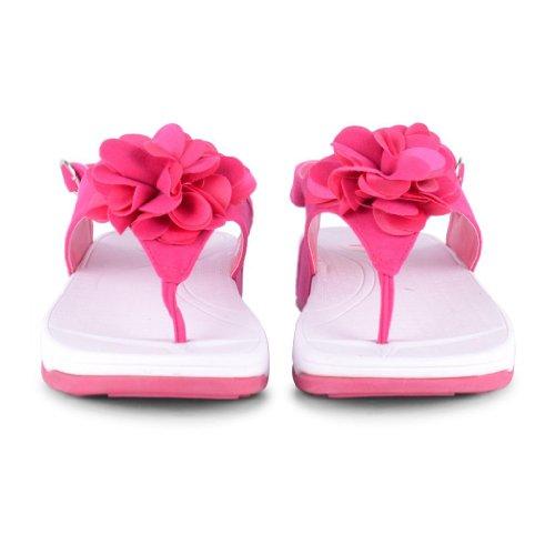 Footwear Sensation - Chanclas de sintético para mujer rosa - rosa